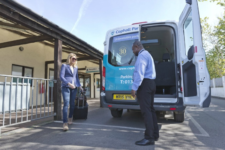 Cophall Parking mini bus