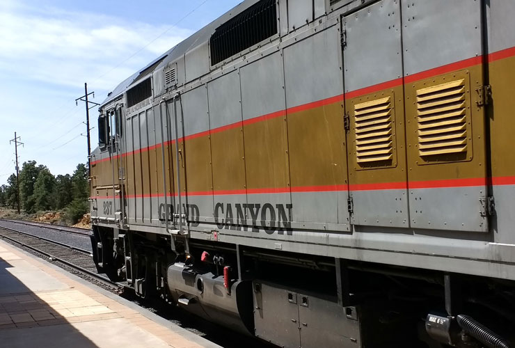 The Gran Canyon Railway