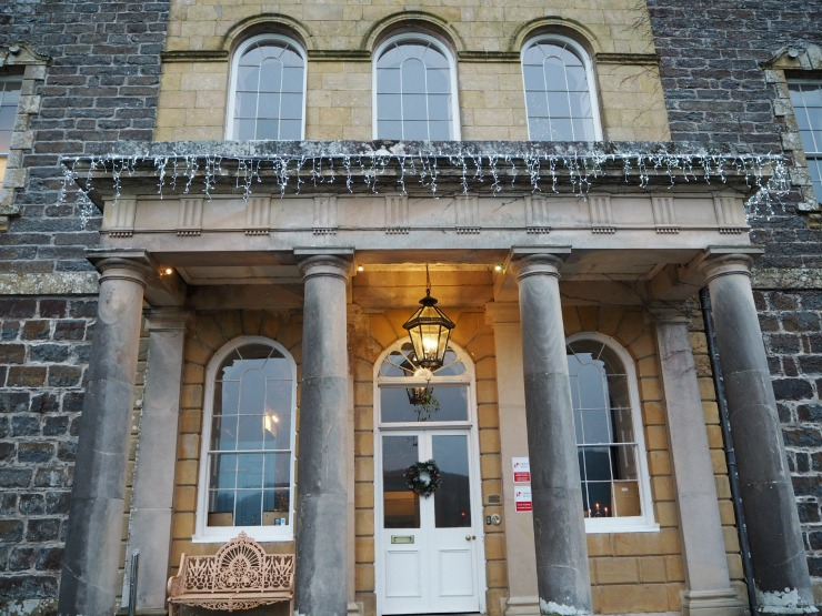 Nanteos Mansion in Mid Wales