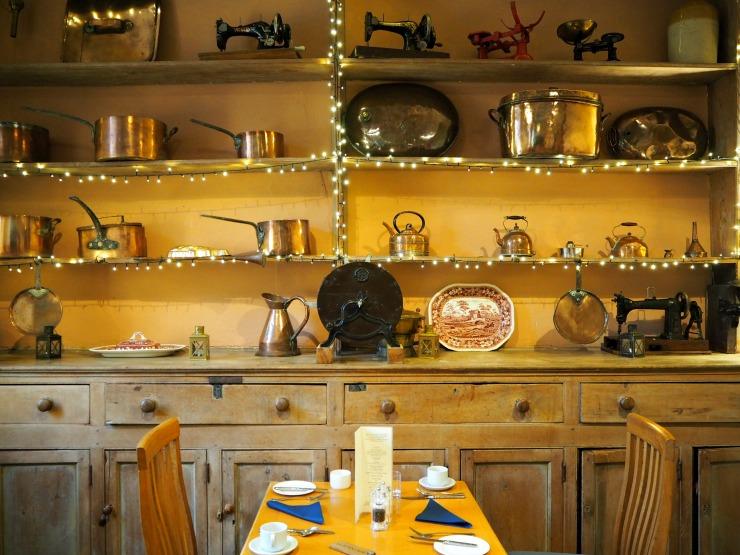 The breakfast room in Nanteos