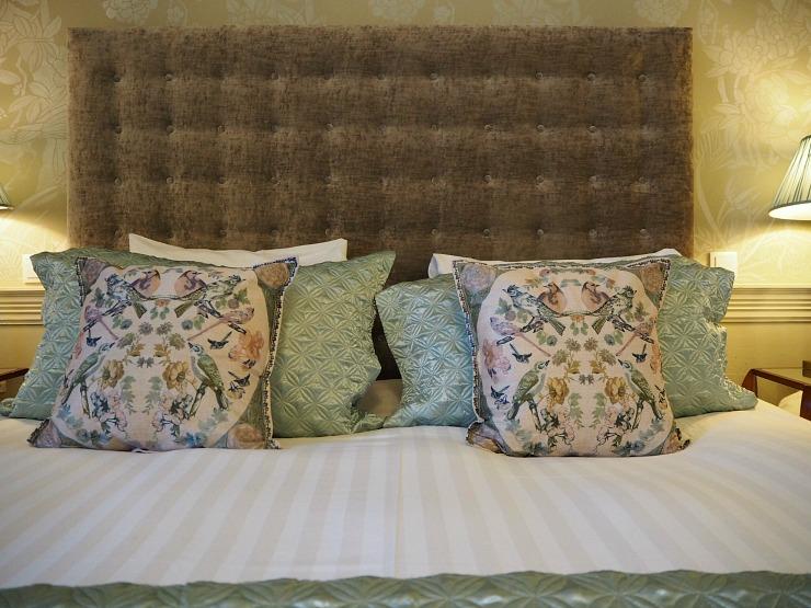 Nanteos Cushions in the room