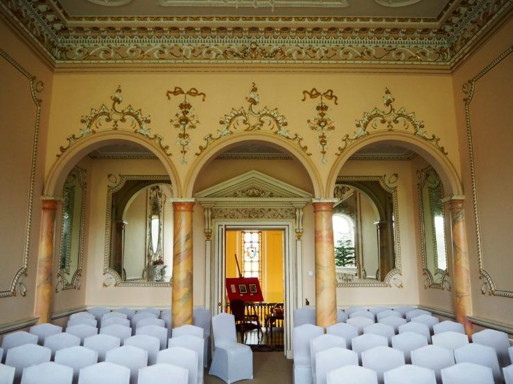 The music room at Nanteos