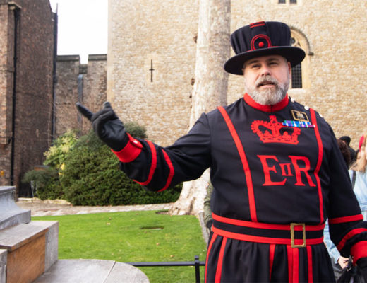 Yeoman Warder At The Tower