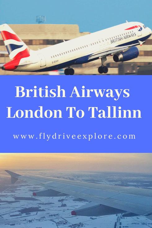 British Airways Flight Review From London To Tallinn, Estonia