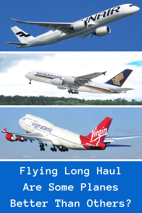 Which planes are the best when flying long haul? #planes