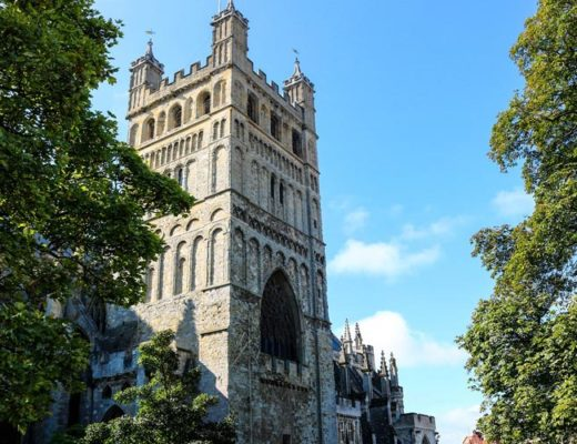 Visiting Exeter, England