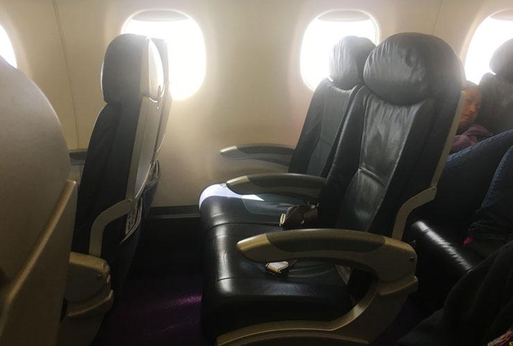 Embraer 175 seating