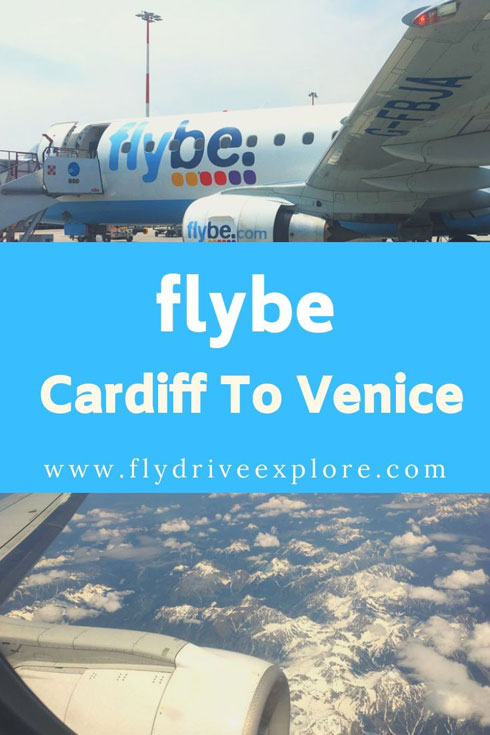Flying with Flybe from Cardiff to Marco Polo Airport, Venice #FlightReview