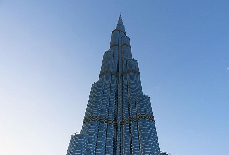 The Burjj Khalifa