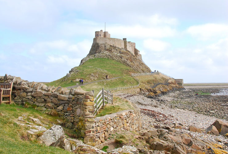 The Holy island of Lindisfarne